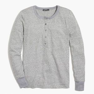JCrew Factory long sleeve slub cotton henley